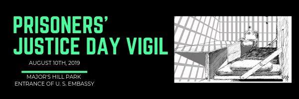 Prisoners' Justice Day Vigil