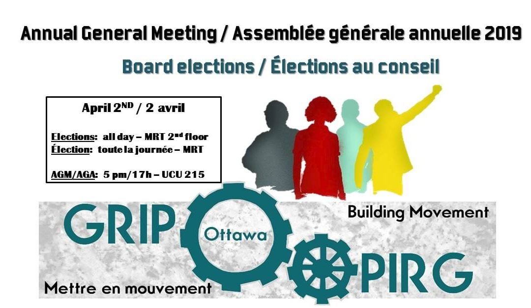 Annual General Meeting and Board Election on April 2nd