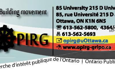 Le GRIPO et les changements annoncés à l'éducation post-secondaire en Ontario